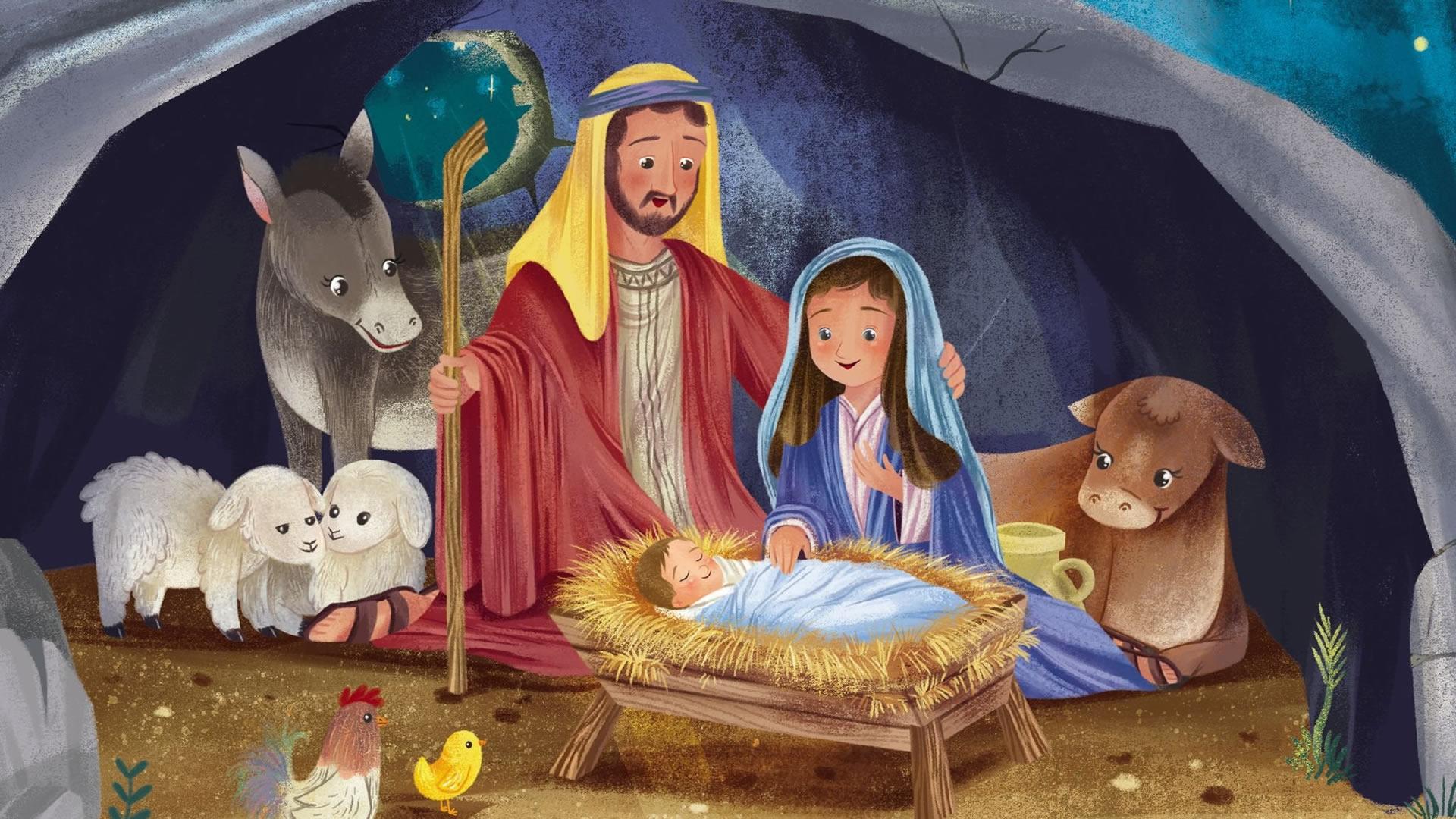 Kleuter kerstviering